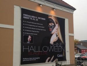 Halloween i centret
