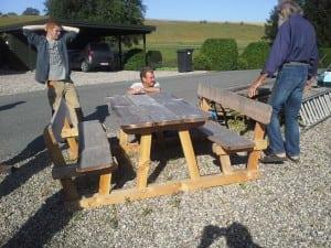 Nye borde og bænke