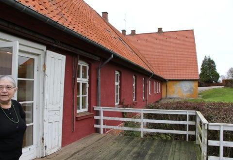 Kattrup Gods, komtessefløjen. Vævere udstiller. Del af Museum Vestsjælland. Foto: Jette Hallig.