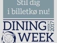 Dining Week – lad dig skrive i køen