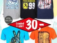 T-shirts med motiv fra Dansk Outlet Korsør.