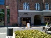 Andrews, spisested på Schweizerpladsen, Slagelse. Foto: Jette