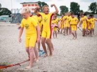 DGI Ocean Rescue Camp hvor børn og unge  lærer livredning År 2013. Foto: Kristina Møller