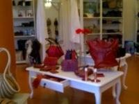 Regitze, lædervarer og galleri i Nyport, Slagelse. Foto: Jette