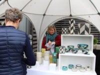 Keramikfestival i Skælskør 2017. Jytte Lysgaard fra Højer i Jylland. Foto: Jette