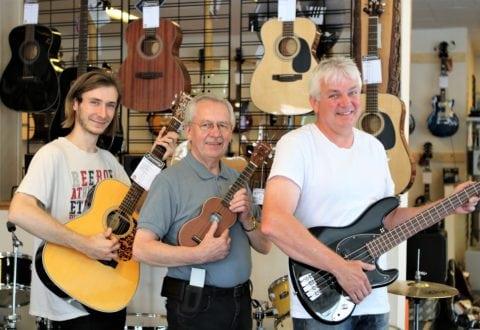 Helmuth Musik. Guitar-uge. Foto: Anne