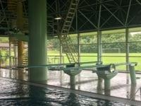 Nyrenoverede vipper i svømmehallen