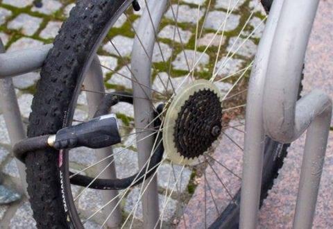 Højsæson for cykeltyveri. Husk låsen. Foto: GF Forsikring