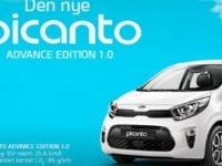Et udsnit af Picanto, som er den nye i efteråret 2017 hos KIA Kjerulff.