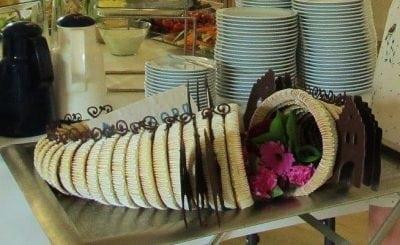 Byportalen har tradition for at fejre fødselsdag med kransekage.