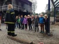 Slagelse Brandvæsen fortæller om brandsikkerhed. Foto: Slagelse kommune